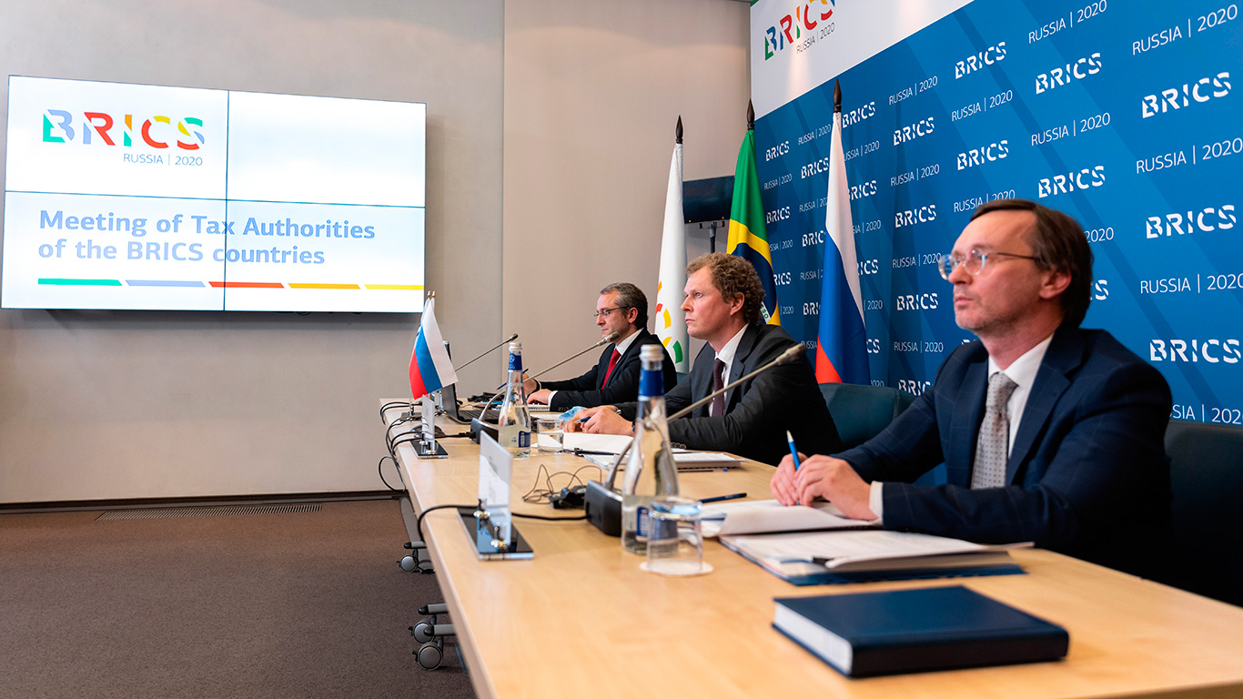 Daniil Egorov hosted the meeting of the Heads of Tax Authorities of the BRICS countries