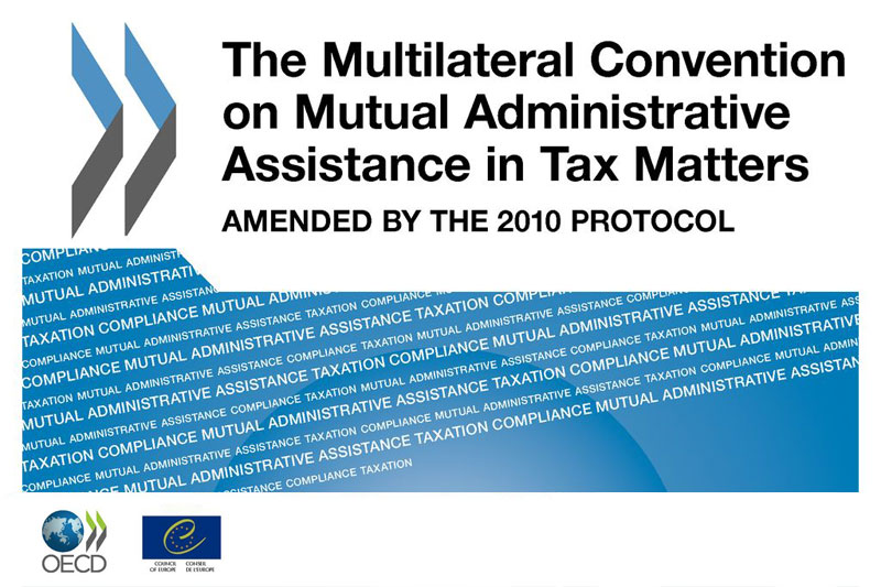 Russia started to apply OECD Convention on Mutual Administrative Assistance in Tax Matters