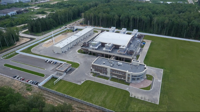 The city of Dubna Data Processing Centre the FTS of Russia