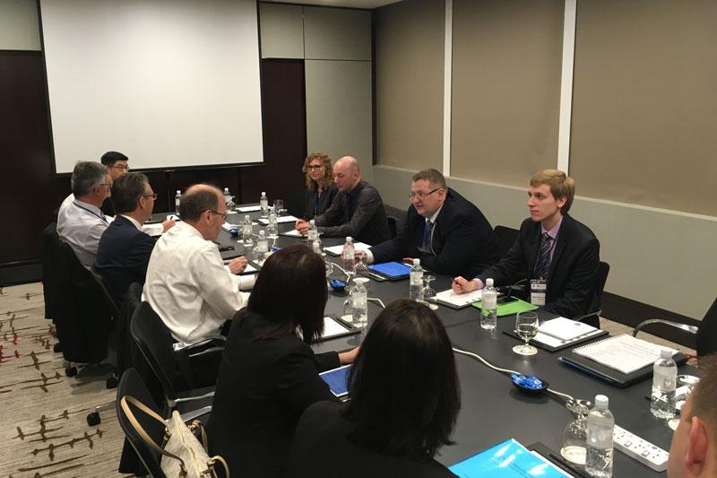 Делегация ФНС России принимает участие во встрече Брисбенской группы